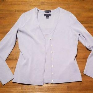 🔥Ann Taylor silk sweater set